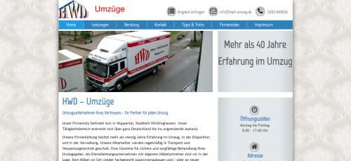 Firmenprofil von: HWD Umzugsservice in Wuppertal: Fachgerechter Umgang mit Ihrem Hab und Gut