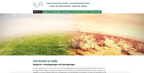 Firmenprofil von: Baugrundgutachten von Ingenieurbüro für Umwelt- und Hydrogeologie GmbH in Halle/Saale