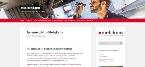 Firmenprofil von: Die professionellen Unfallgutachter in Hamburg: Ingenieurbüro Mehrkens