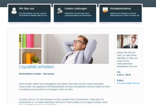 Firmenprofil von: Inkassodienst Jannsen: Finanziell auf der sicheren Seite
