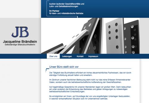 Firmenprofil von: Jacqueline Brändlein: selbständige Bilanzbuchhalterin in Fürth