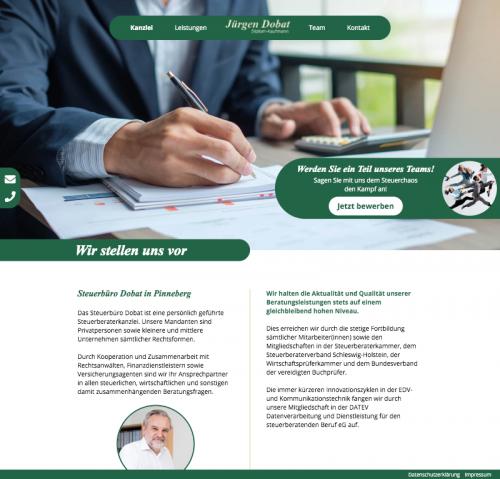 Firmenprofil von: Dipl.Kfm. Jürgen Dobat, Steuerberater und vereidigter Buchprüfer in Pinneberg
