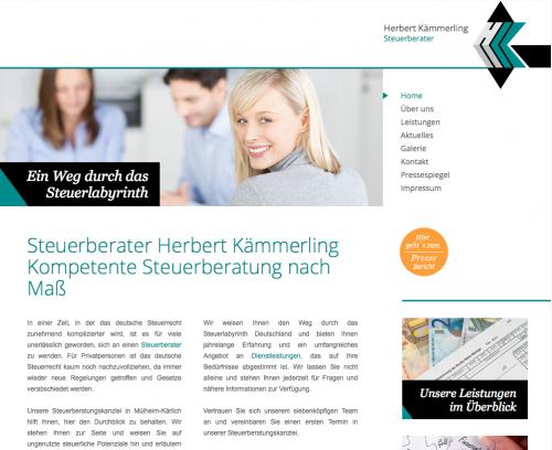 Firmenprofil von: Steuerberater Herbert Kämmerling in Mülheim-Kärlich
