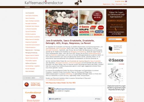 Firmenprofil von: Ersatzteile für die Jura Impressa Kaffeemaschine in München