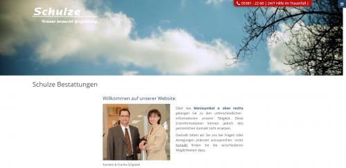 Firmenprofil von: Trauerkarten online kaufen: Mit Bestattungsdienste F. Grigoleit e. K.