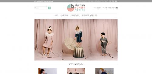 Firmenprofil von: Pünktchen Komma Strich: Individuelle Leinenkleidung für Kinder im Onlineshop