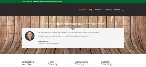 Firmenprofil von: Kommunikationstraining vom Experten: Andreas Pauly in Auetal