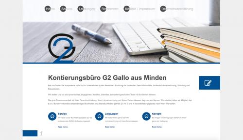 Firmenprofil von: Kontierungsbüro in Minden: G2 Gallo