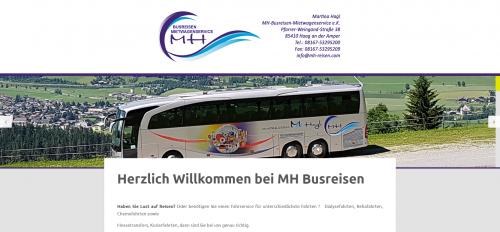 Firmenprofil von: Zuverlässige Krankenfahrten mit MH Busreisen-Mietwagenservice bei Freising