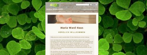 Firmenprofil von: Seminar und Kurhaus in Augsburg: Maria Ward Haus