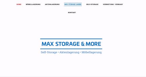 Firmenprofil von: Günstig Lagerraum mieten in Stolberg bei Würselen: Max Storage & more