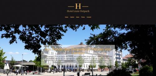 Firmenprofil von: Preiswerte Übernachtung in Landau: Hotel zum Ostpark