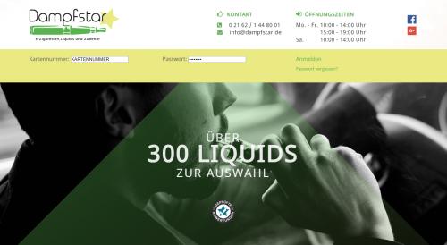 Firmenprofil von: Nikotinfreies Liquid bequem online bestellen