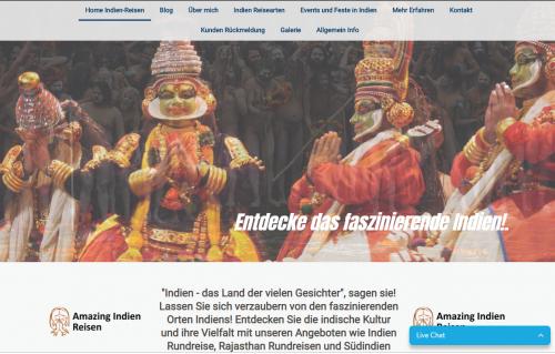 Firmenprofil von: Amazing Indien Reisen: Luxusreisen durch Indien