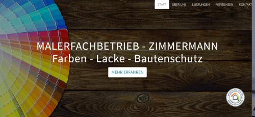 Firmenprofil von: Malerfachbetrieb Zimmermann bei Freiburg bringt frischen Wind in Ihr Zuhause