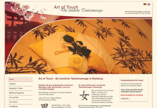 Firmenprofil von: Art of Touch – Ihr Experte für Tantra-Massagen nahe Winterhude