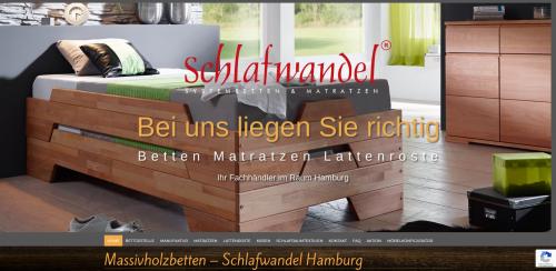 Firmenprofil von: Hochwertige Massivholzschränke von Schlafwandel Hamburg