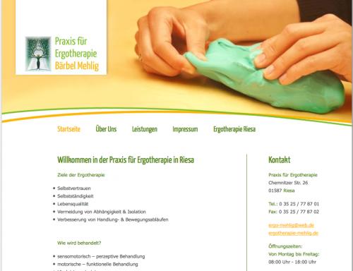 Firmenprofil von: Praxis für Ergotherapie Bärbel Mehlig in Riesa