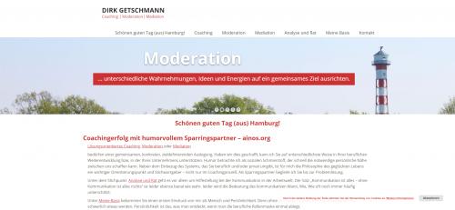 Firmenprofil von: Ihr Partner für Managementcoaching in Hamburg: Dr. Dirk Getschmann
