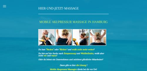 Firmenprofil von: Hier-und-Jetzt-Massage – Ihre mobile Nackenmassage in Hamburg