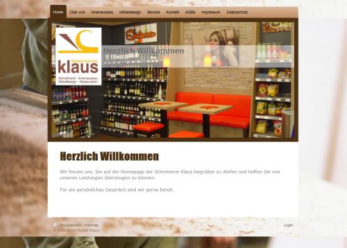 Firmenprofil von: Individuelles Möbeldesign der Schreinerei Rudolf Klaus in Zell