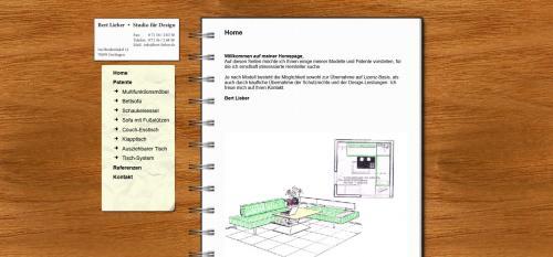 Firmenprofil von: Möbelherstellung Tische und Stühle - Ihr Designer Bert Lieber