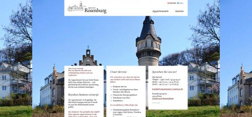 Firmenprofil von: Möbliertes wohnen in einer Burg – Appartements Rosenburg in Bonn