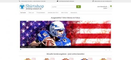 Firmenprofil von: Motivshirts von Shirtshop Wiesloch