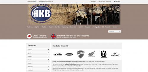 Firmenprofil von: Professioneller Motorradankauf in Berlin: HKB-Vertrieb