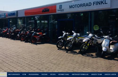 Firmenprofil von: Motorradgeschäft in Augsburg: Motorrad Finkl e.K.