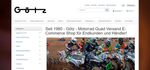 Firmenprofil von: Motorsportteile online kaufen bei Götz GmbH
