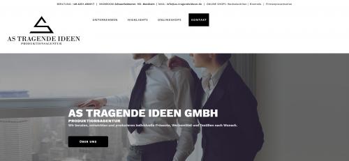 Firmenprofil von: Bio T-Shirts bedrucken bei AS Tragende Ideen GmbH