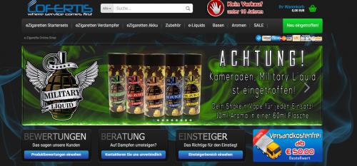 Firmenprofil von: Lofertis: Der Onlineshop für Nikotin Shots