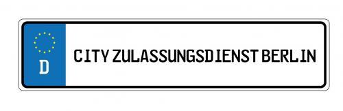 Firmenprofil von: Kurzzeitkennzeichen von City KFZ-Zulassungsdienst Berlin