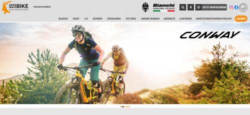 Firmenprofil von: Rennräder von Bianchi: Erstklassige Beratung von Odenwaldbike