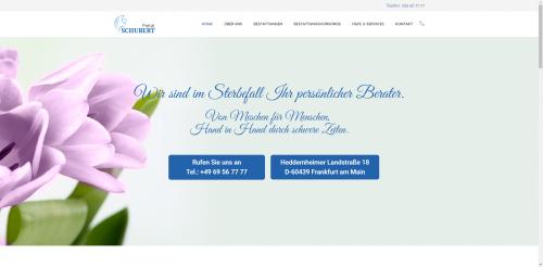 Firmenprofil von: Öko-Bestattungen Frankfurt: Pietät Schubert für einen würdevollen Abschied