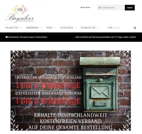 Firmenprofil von: Namensringe bei baysilver.de
