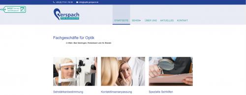 Firmenprofil von: Ihr Optiker in Bad Säckingen: Gerspach für Auge und Ohr