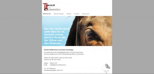 Firmenprofil von: Wundbehandlung mit kaltem Plasma für Ihr Pferd beim Tierarzt von Olnhausen