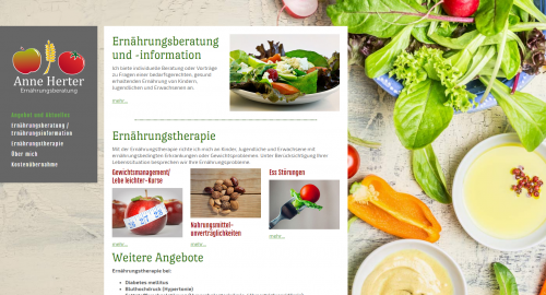 Firmenprofil von: Anne Herter: Professionelle Ernährungsberatung in Pforzheim