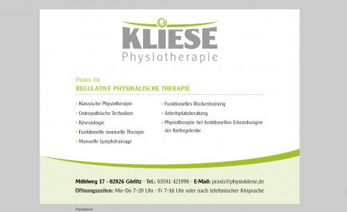 Firmenprofil von: Effektive Schulterbehandlung in Görlitz: Physiotherapie Hardy Kliese