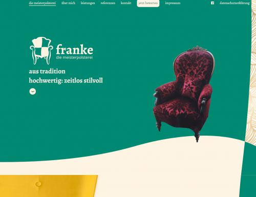 Firmenprofil von: Meisterpolsterei Michael Franke in Berlin haucht Polstermöbeln neues Leben ein