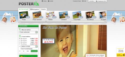Firmenprofil von: Ihr Familienfoto als Poster: Posterlia