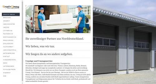 Firmenprofil von: Privatumzug von und nach Hamburg: Kreativ Umzug