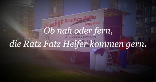 Firmenprofil von: Privatumzug aus einer Hand von Umzüge Ratz Fatz Helfer in Wuppertal