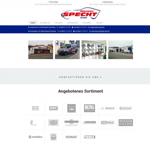 Firmenprofil von: Werkstattbedarf in Spiesen-Elversberg – Werner Specht GmbH