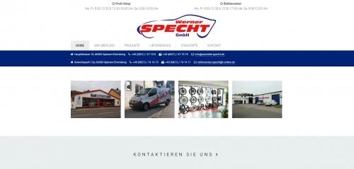 Firmenprofil von: Professionelle Reifenmontage in Spiesen-Elversberg: Werner Specht GmbH