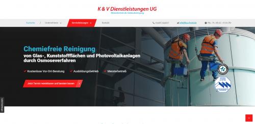 Firmenprofil von: Professionelle Krankenhausreinigung in Gronau: K & V Dienstleistungen UG