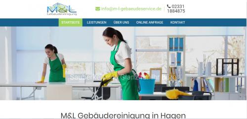 Firmenprofil von: Ihr Partner für die Unterhaltsreinigung nahe Wuppertal: M&L Gebäudereinigung