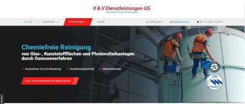 Firmenprofil von: Reinigungsfirma bei Gronau – K&V Dienstleistungen UG in Heek